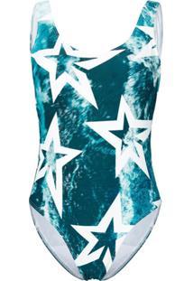 Perfect Moment Maiô 'Wild Ocean Star' - Azul