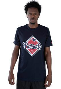 T-Shirt New Era Regular New England Patriots Marinho