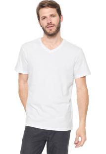 Camiseta Reserva Gola V Branca