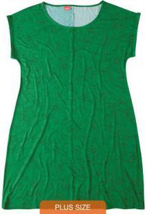 Vestido Verde Curto Estampado Wee!