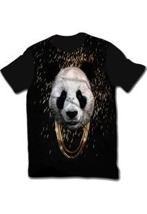 Camiseta Ramavi Panda Preto