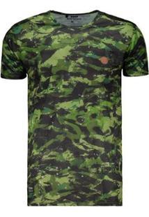 Camiseta Hd Especial Force - Masculino-Verde