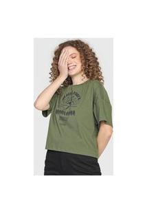 Camiseta Colcci Revolution Verde