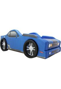 Cama Cama Carro Rs7 Azul