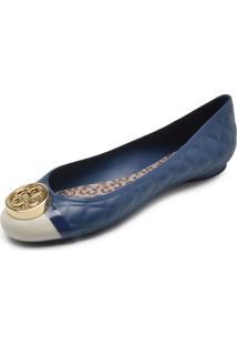 Sapatilha Capodarte Matelassê Azul