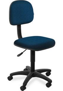 Cadeira Secretária Injetada Base Giratór