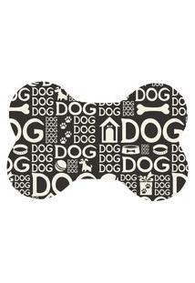 Tapete Love Decor Pet Wevans Dog Dog Preto Único