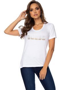 Camiseta Guess Logo Strass
