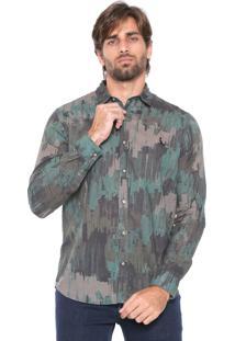 Camisa Reserva Reta Militar Verde