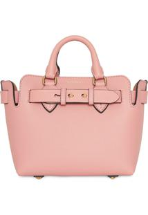Burberry Pochete De Couro The Mini - Rosa
