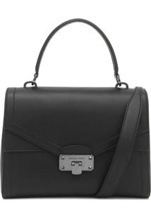 Bolsa Michael Kors Kinsley Lg Th Preto