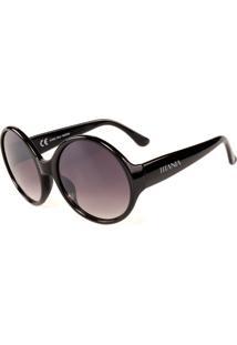 Óculos De Sol Titania Redondo Com Lente Degrade