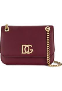 Dolce & Gabbana Bolsa Transversal Dg Millennials - Vermelho