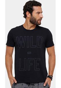 Camiseta Ellus Wild Life Masculina - Masculino