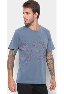 Camiseta Rusty Esp Log Cabins Masculina - Masculino