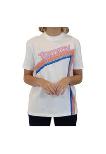 Blusa Feminina T-Shirt Tommy Jeans Branco