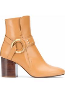 Chloé Ankle Boot - Marrom
