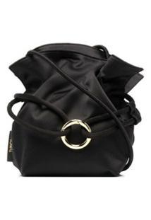 Tubici Drawstring-Fastening Mini Bag - Preto