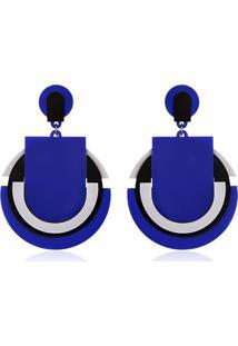 Brinco Le Diamond Simone Azul