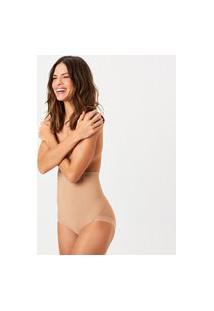 Calcinha Joge Alta Modeladora Nude