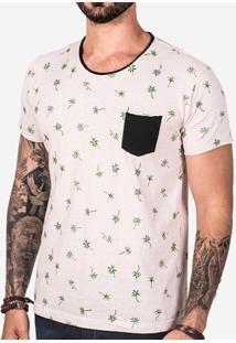 Camiseta Rosa Palms 102440