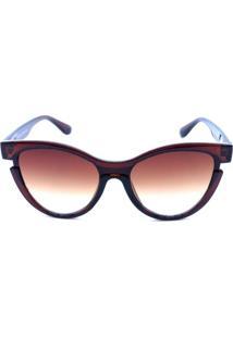b7ac35651 Dafiti. Óculos Solar Prorider Marrom Com Lente Degrade ...