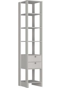 Guarda-Roupa Modulado Closet 106 - Nova Mobile - Branco