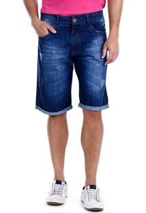Bermuda Jeans Masculina Hamy