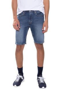 Bermuda Jeans Levis 502 Taper Hemmed - 36
