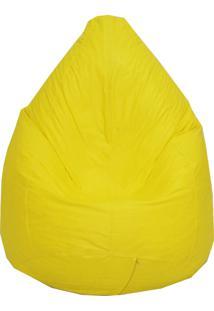 Puff Perinha Pop Amarelo