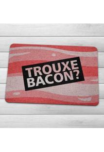 Capacho Ecológico Trouxe Bacon Geek10 - Multicolorido