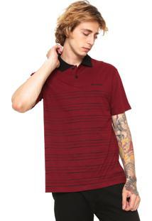 Camisa Polo Nicoboco Básica Vermelha