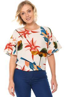 2dfd89a36 Blusa Decote Redondo Linho feminina | Shoelover