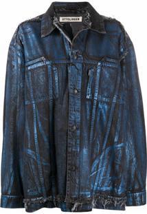Ottolinger Jaqueta Jeans Oversized - Azul