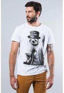 Camiseta Mc Estampada Slow Fashion Reserva Masculina - Masculino