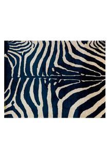 Jogo Americano (Kit 4 Unidades) Nerderia E Lojaria Zebra Azul Colorido