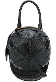 Moschino Hat Shoulder Bag - Preto