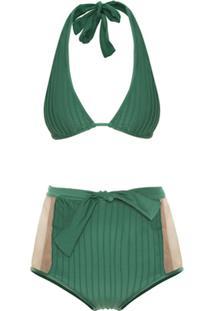 c6034e536341 ... Adriana Degreas Biquíni Hot Pants Tule - Verde