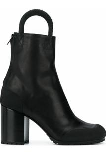 Random Identities Ankle Boot - Preto
