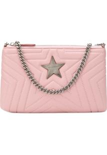 Stella Mccartney Bolsa Clutch 'Stella' - Rosa