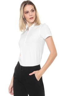 Camisa Polo Dudalina Lisa Branca
