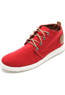Sapatênis Coca Cola Shoes Tag Vermelho