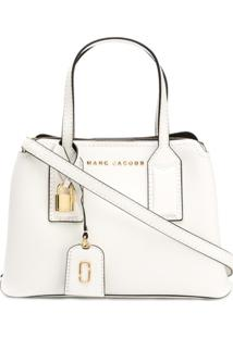 Marc Jacobs Bolsa Transversal The Editor - Branco