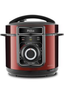Panela De Pressão Elétrica Philco Ppp02Vi, Multifuncional, Vermelha - 110 Volts