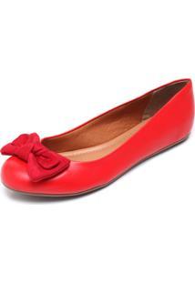 Sapatilha Rock Lily Laço Vermelha