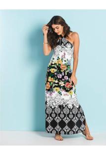 Vestido Endless Longo - Feminino-Preto