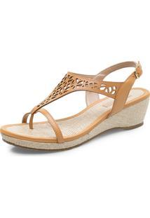 Sapatos Femininos Corello Sandália Marrom
