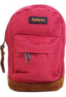 Mini Mochila Up4You Chaveiro - Unissex-Vermelho