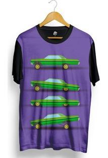 Camiseta Bsc Lowrider Full Print - Masculino-Preto