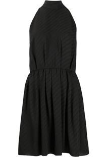 Givenchy Vestido Com Logo - Preto